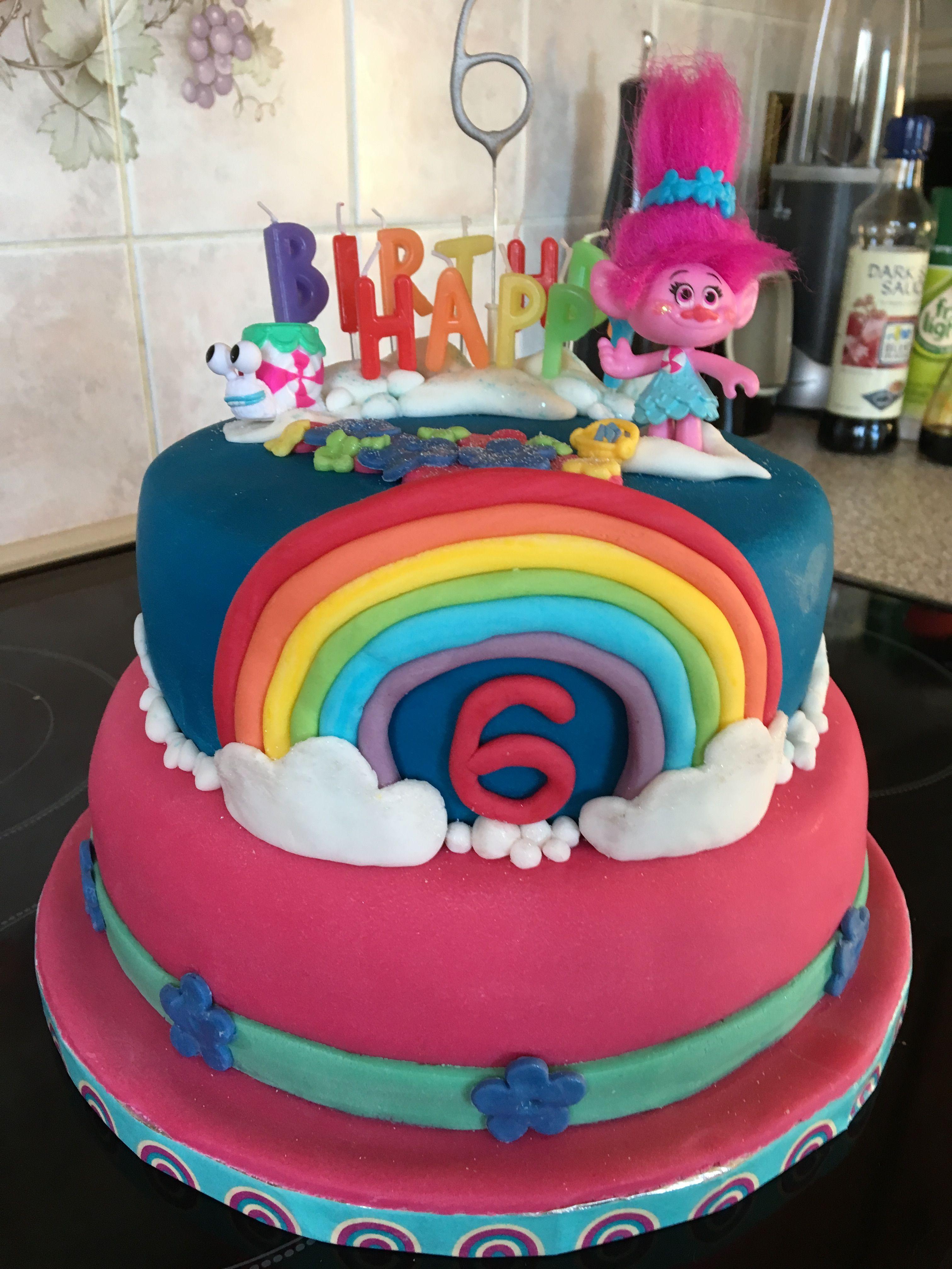 Trolls birthday cake mit bildern geburtstagstorte