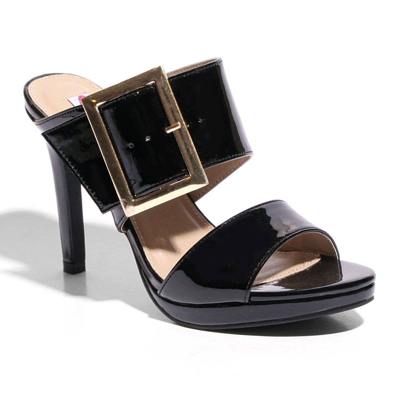 ecaa93f11fa06 Too dazed | Products | Heeled mules, Womens high heels, Heels