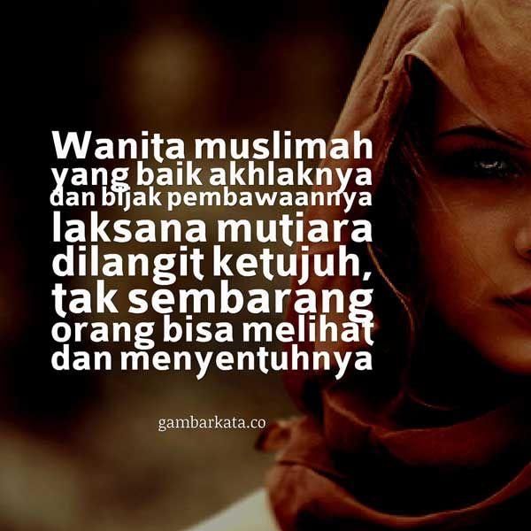 Gambar Kata Kata Islami Wanita Shalehan Dengan Gambar Wanita