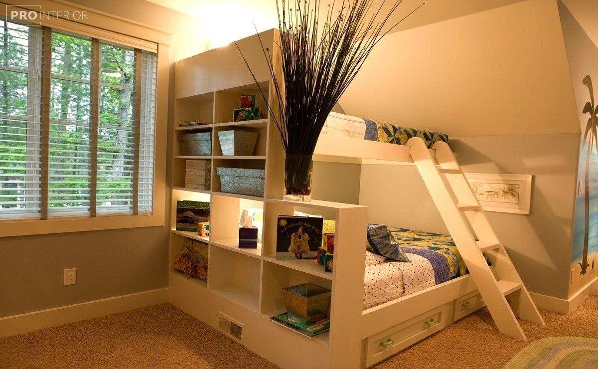 Двухъярусные кровати | Маленькие детские комнаты ...