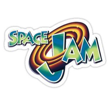Space Jam Logo Design Stickers Space Jam Space Jam Theme Looney Tunes