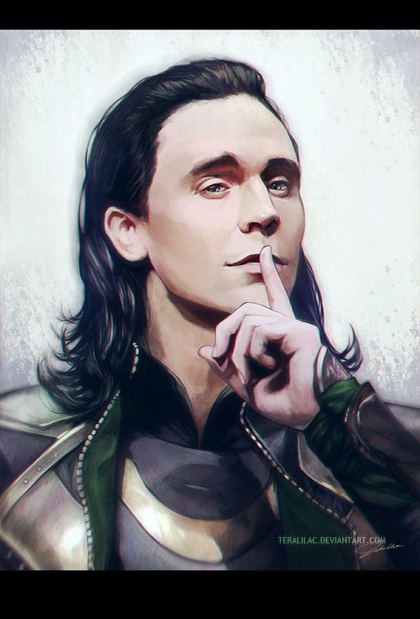 Loki Laufeyson by =teralilac on deviantART
