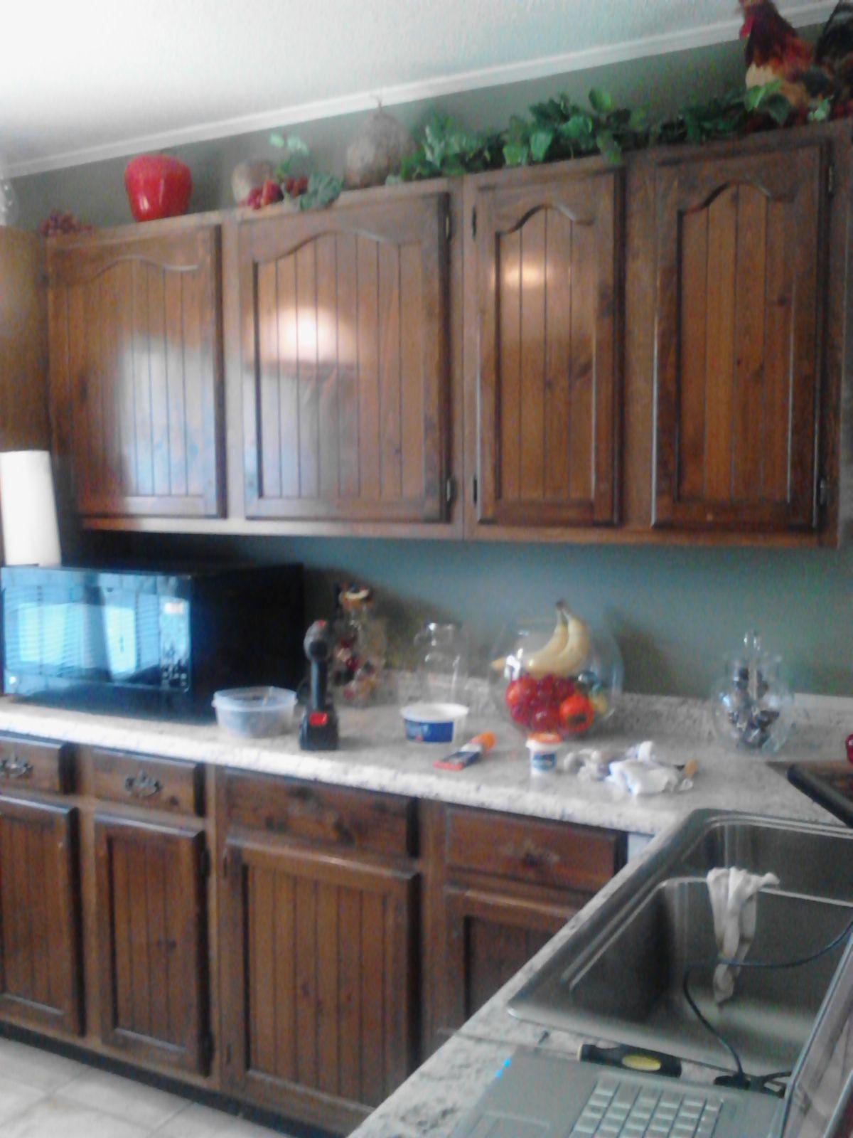 Restore Finish On Kitchen Cabinets