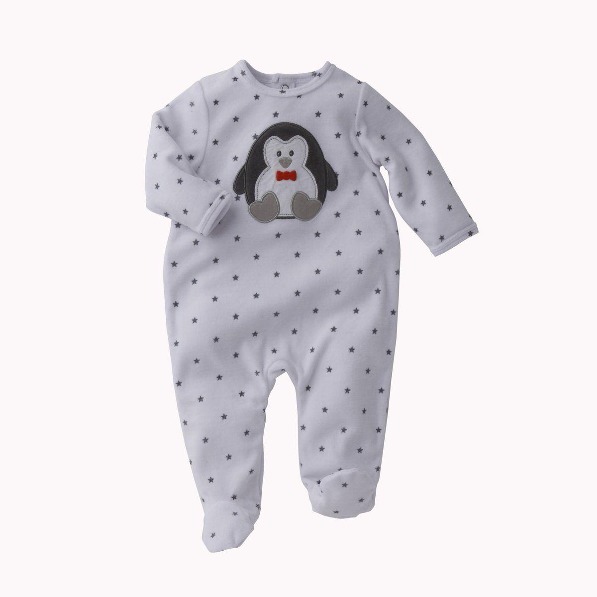 cb5463042853d Pyjama à pieds velours bébé fille ou garçon, Cocoon   Idée Cadeau ...