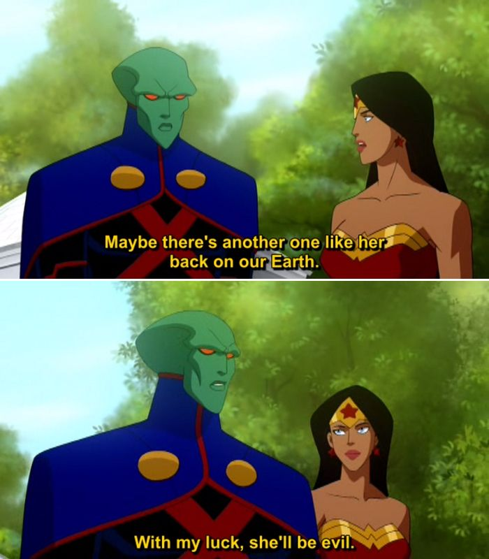 Quotes From Wonder Woman Movie: Quotes From Justice League Crisis On Two Earths (2010