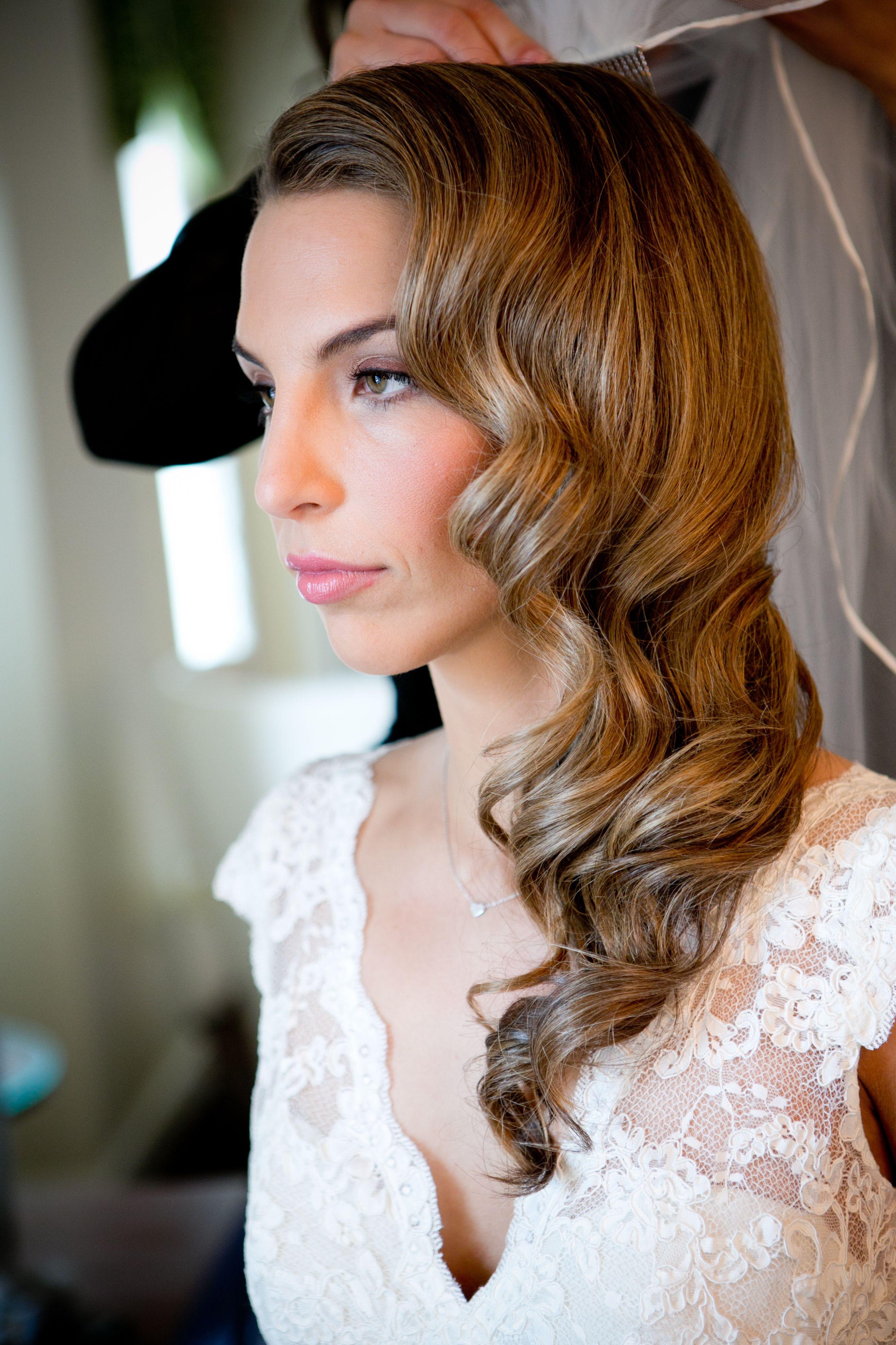 photo via | mil ball | vintage wedding hair, wedding