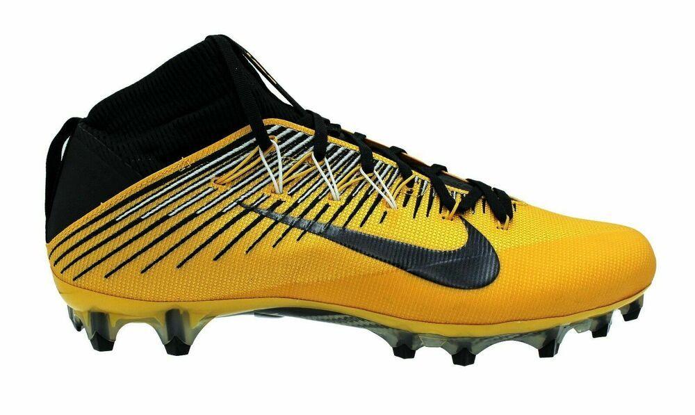 Nike vapor untouchable 2 pf football cleats mens gold