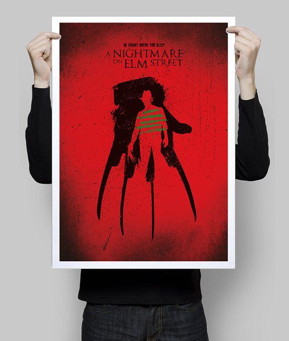 Alternative Movie Poster Freddy Krueger A Nightmare On Elm