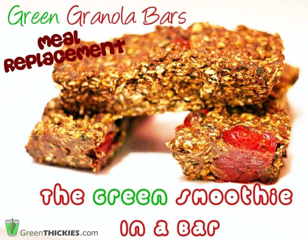 Raw Granola Bar Recipe with Chocolate, Cherry and hidden ...