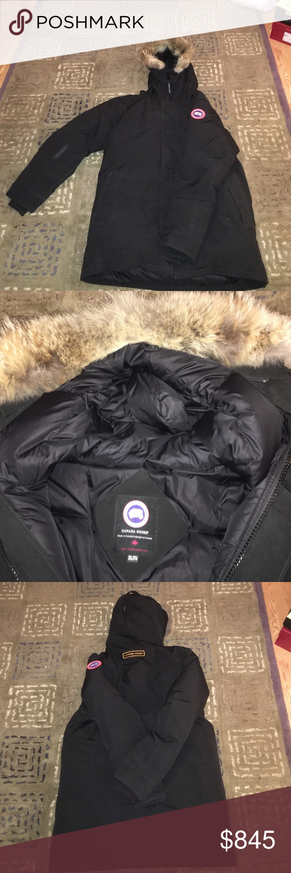 Canada Goose parka with Coyote fur hood 100 % authentic mens parka, model type: 00015172, this parka is in Amazing condition, no stains, no rips, ...