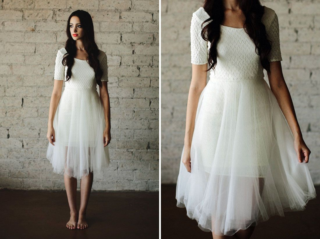 Wedding Dresses For Non Traditional : Non traditional weddings wedding dresses modern