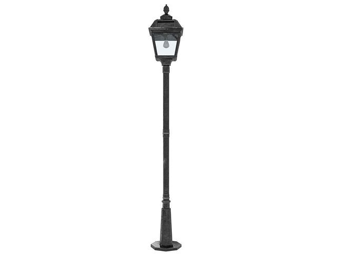 Imperial street lamp post 3d model this is a realistic model of an imperial