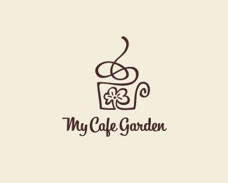 My Cafe Garden Logotipos Productos Innovadores Identidad Visual