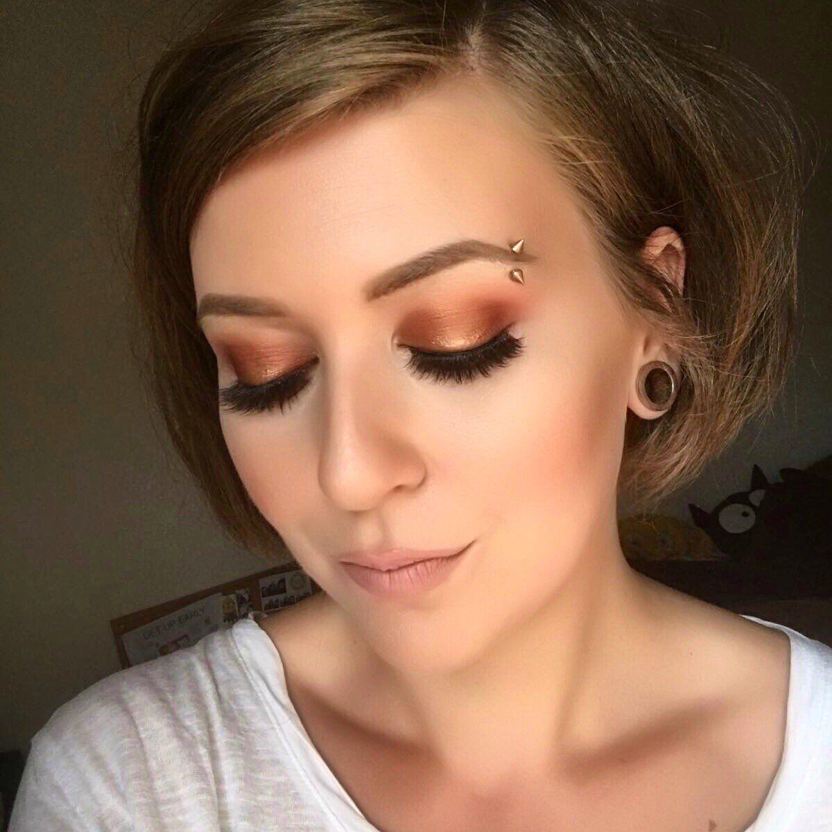 my copper love flamethrower untamed foiled eyeshadow