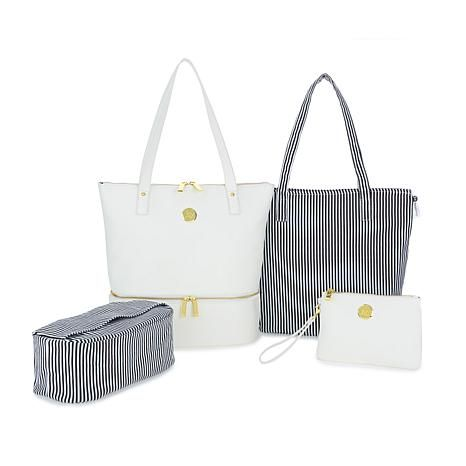 f0ac58dac94 JOY Smart   Chic Leather Handbag Set with Secret Section and More in ...