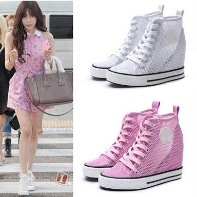 zapatillas converse con tacon