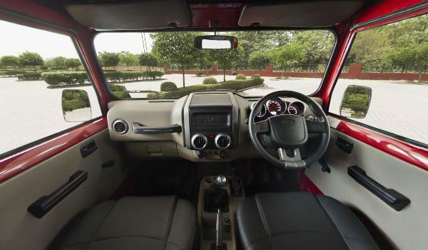 2020 Mahindra Thar Interior Mahindra Thar Car Pictures Interior