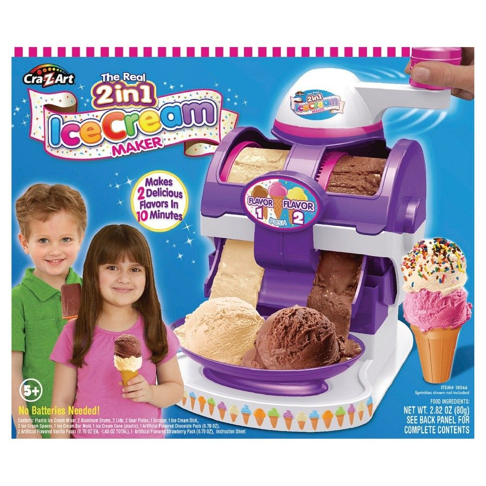 Cra-Z-Art The Real 2 in 1 Ice Cream Maker,