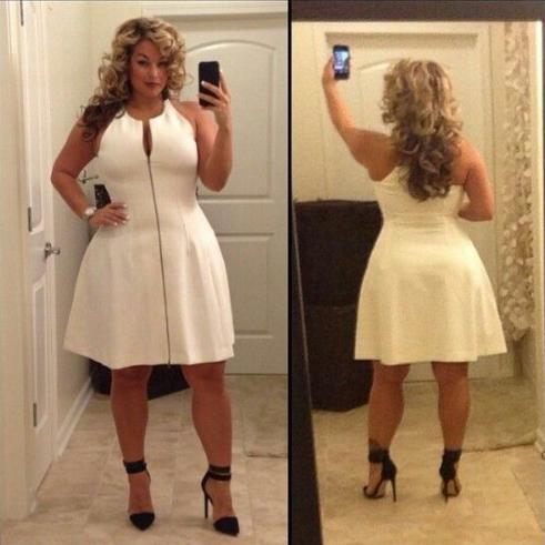 Plus size Women Mini Dress Zipper Casual Elegant Sexy Autumn Slim ...
