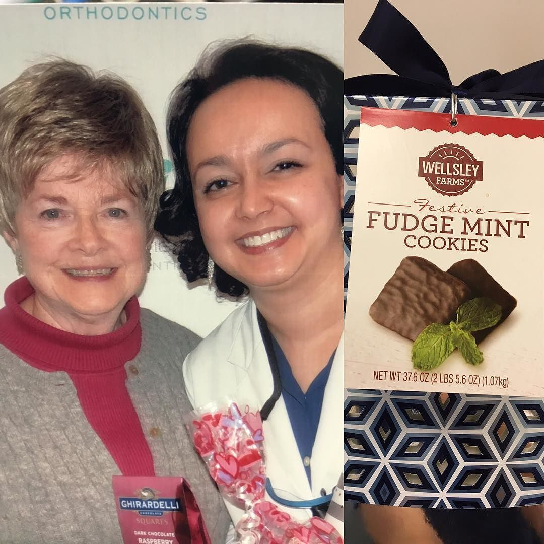 Our patients are the sweetest! We were treated to some delicious chocolates from Barbara and yummy cookies from Mackenzie. Thank you so much for thinking about us! We  treats! #smilewithus
