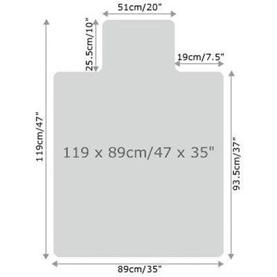 FLOORTEX Cleartex Ultimat Low/Medium Pile Carpet Chair Mat $69.99 - $92.99