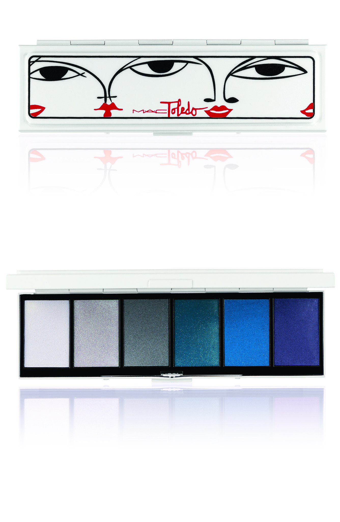 Mac Cosmetics Toledo Eye Shadow Palette in Moodyblu ($72 AU)