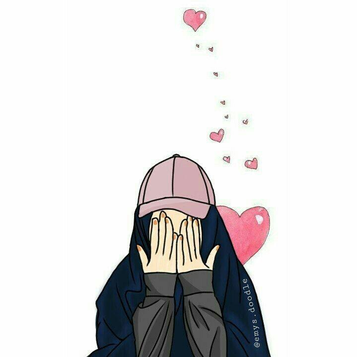 Alhamdulilah Gambar Ilustrasi Karakter Kartun