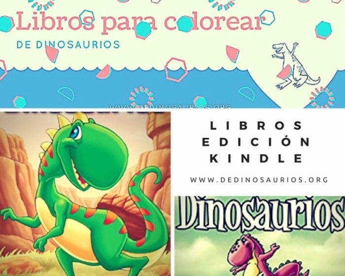 Libros Para Colorear De Dinosaurios Para Niños Dinosaurios