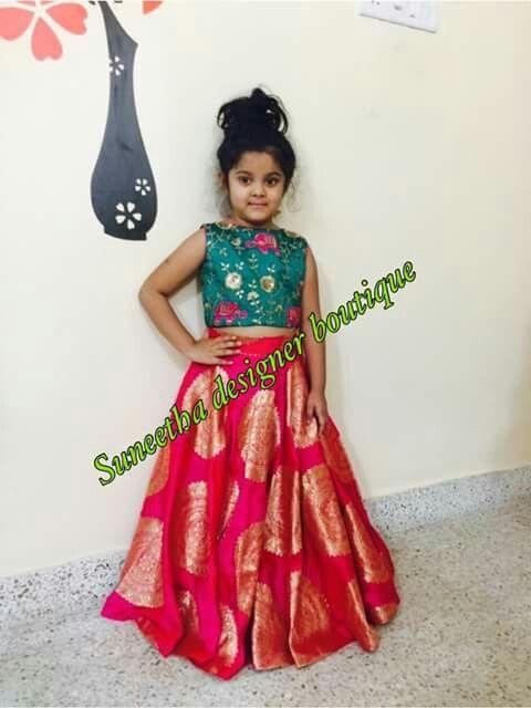 a776add0b5018 Kids Lehenga · Aaru lehnga Kids Dress Indian