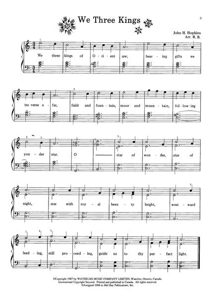 Christmas Carols for Easy Piano Sheet music, Digital
