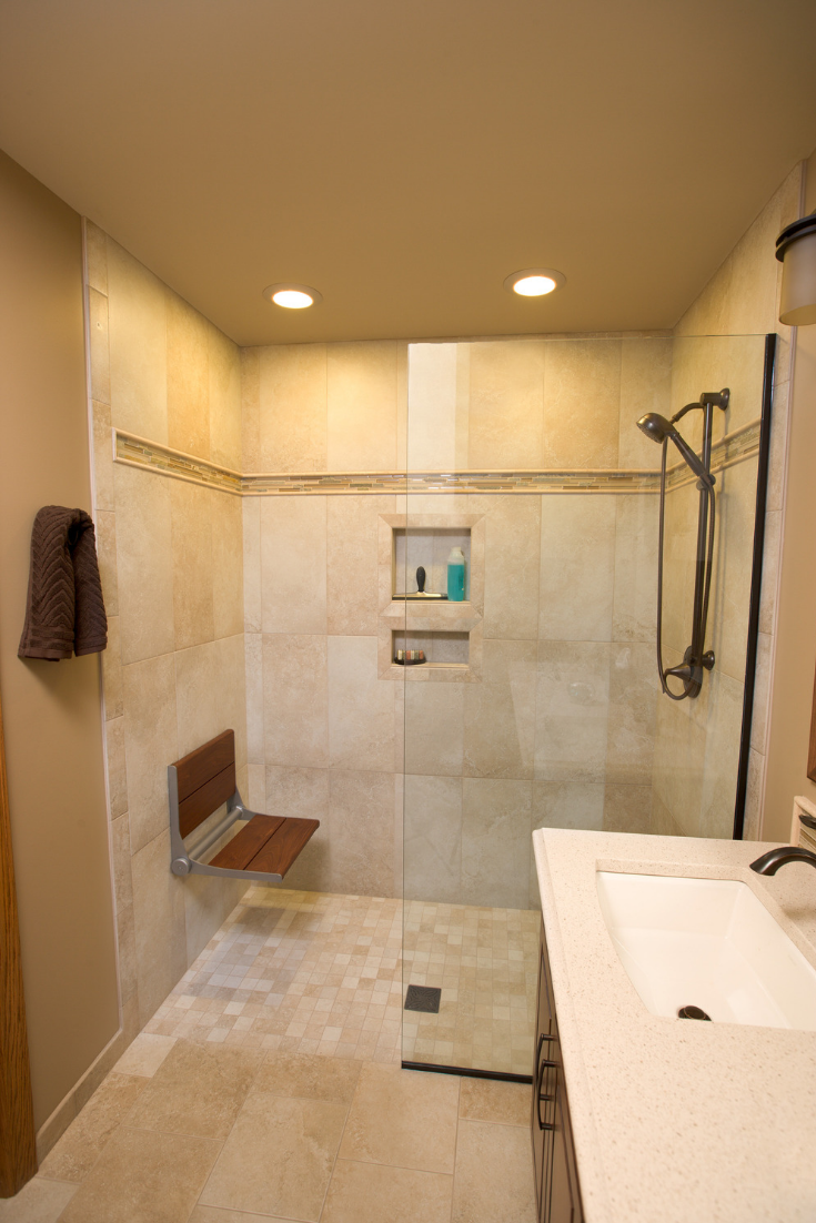 6 Things You Shouldn T Do When Replacing Your Tile Shower Bathrooms Remodel Bathroom Design Small Bathroom Remodel