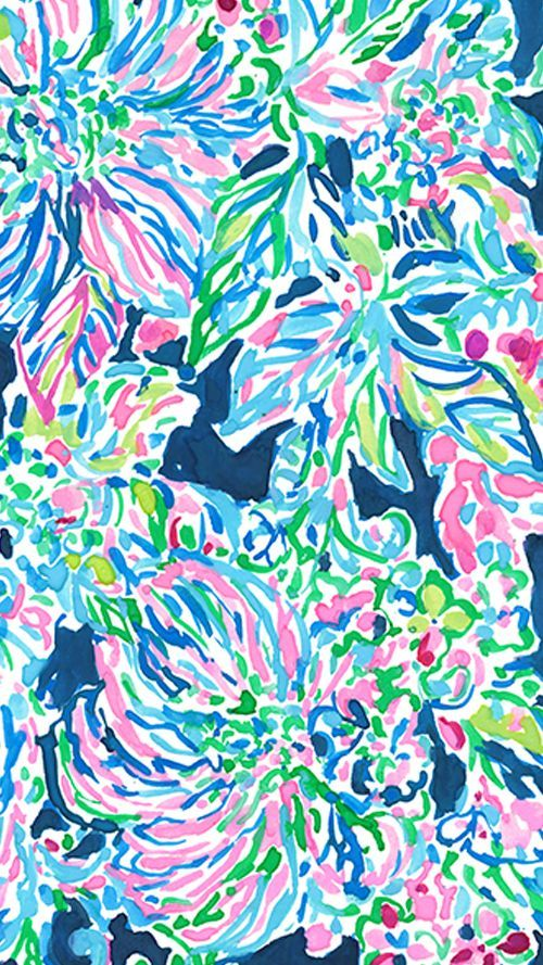 Floral Pattern Lilly Pulitzer Wallpaper Inspiration Collection ...