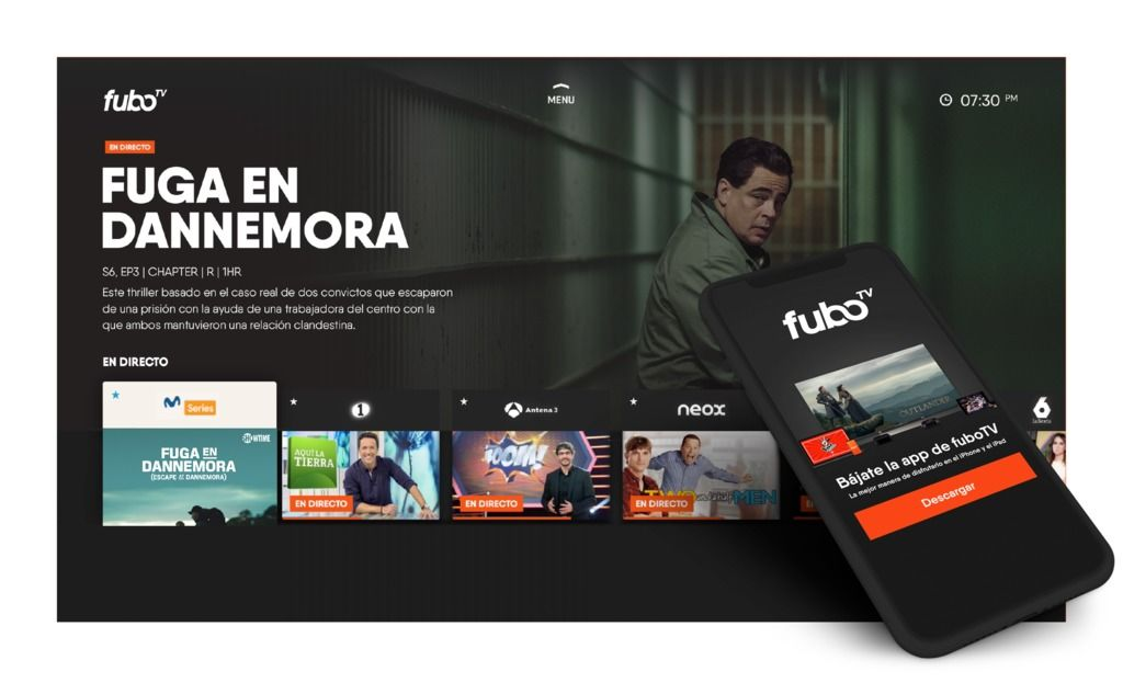 fuboTV Expands to Europe with Spain Launch Live tv