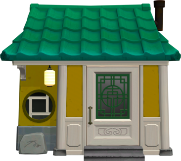Pin By Rrf On Acnh Villager Houses Animal Crossing Animal Crossing Pocket Camp Asian Dragon
