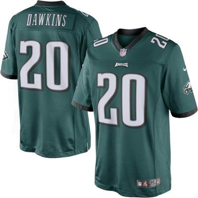 Mens+Nike+Brian+Dawkins+Midnight+Green+Philadelphia+Eagles+Retired+Player+ Limited+Jersey 930916613