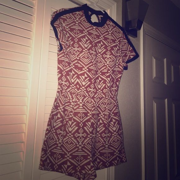 Aztec like designed romper Chic romper ! Worn once ! Smoke free home Other