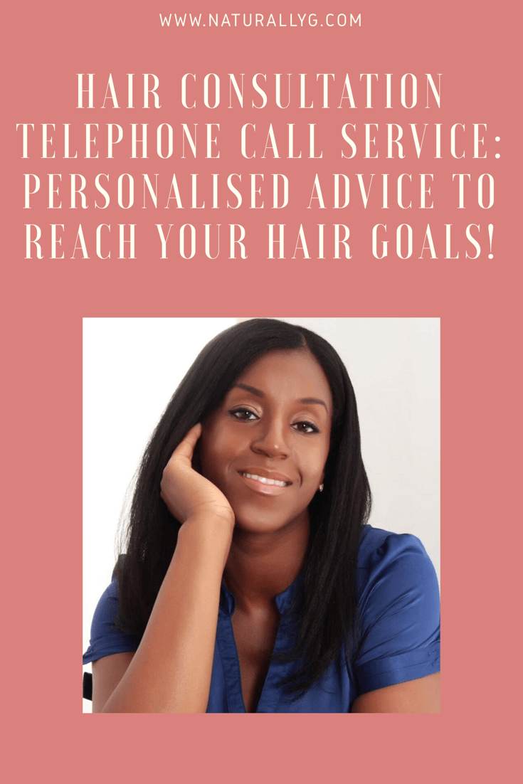 Hair Consultation (45 Minute Telephone Call*) Hair care