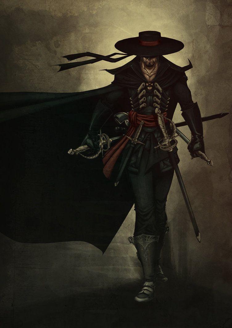 Walking Zorro by Valhein deviantart com on @DeviantArt | Fantasy in