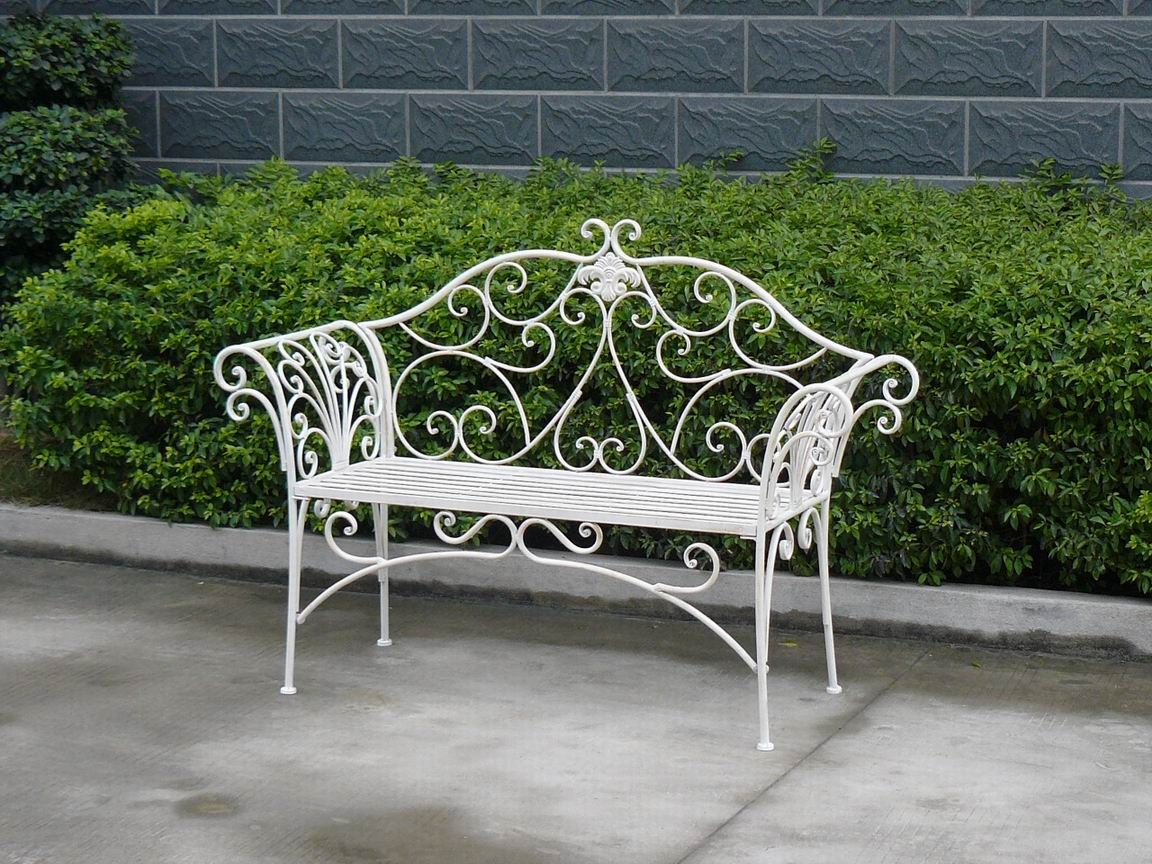 2013 Newest Classical Vintage Folding Wrought Iron Metal Outdoor