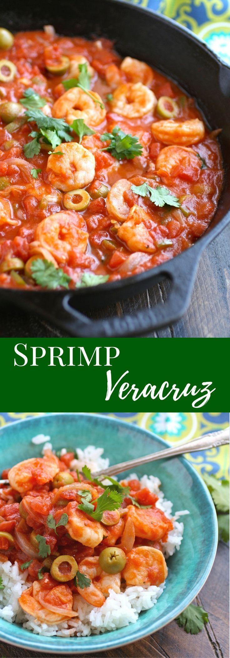 Shrimp Veracruz Recipe Seafood Recipes Food Recipes Best
