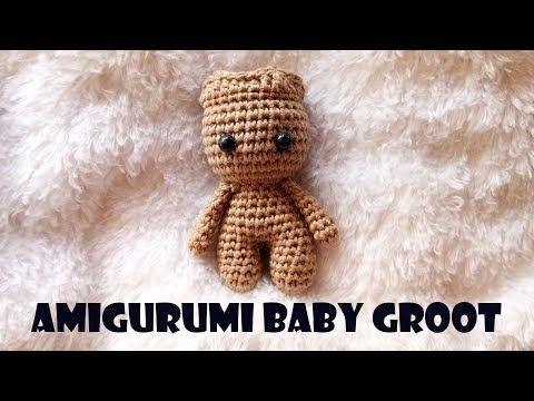 Amigurumi Patterns Groot : Amigurumi baby groot crochet tutorial youtube de todo un