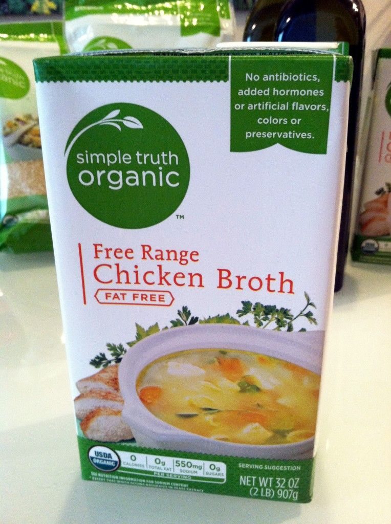 Chicken broth that is a healthier choice gotitfree for