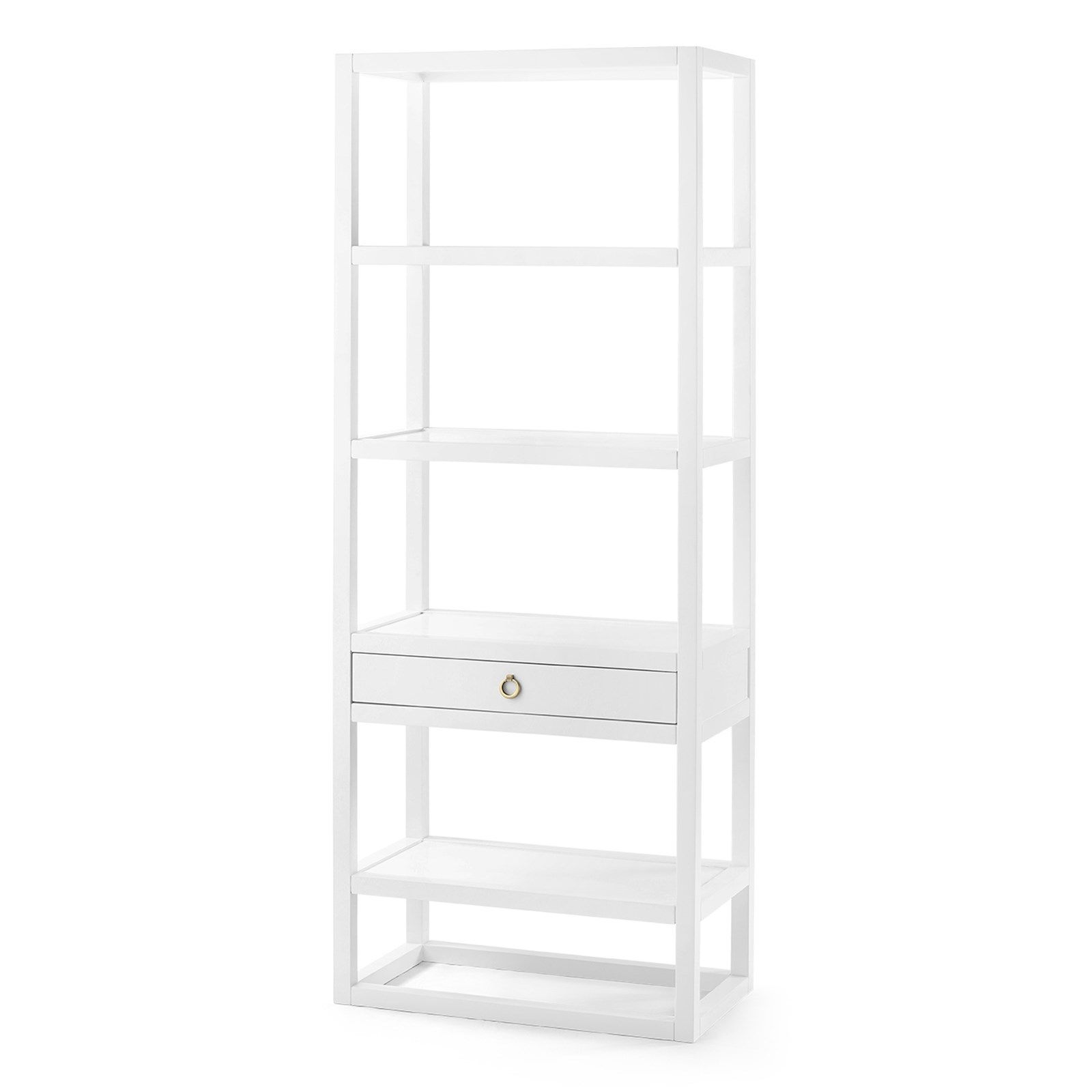 Newport Etagere, White - Bungalow 5  30Wx16.5Dx78H    Cost - $1273 + 20%