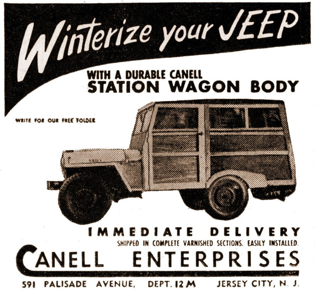 Winterize Your Jeep With A Durable Canell Station Wagon Body