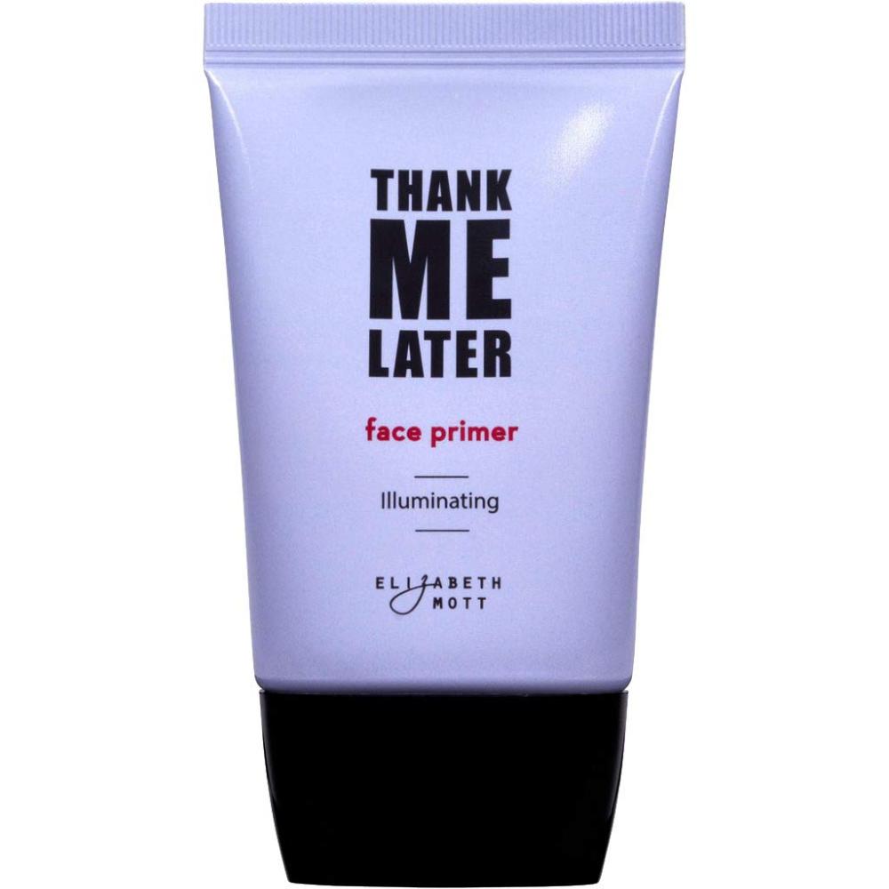 Thank Me Later Primer by Elizabeth Mott. Parabenfree and