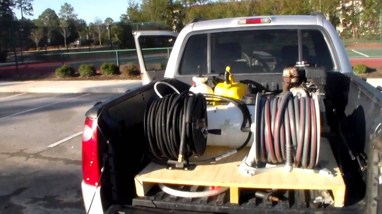 Truck Bed Pressure Wash Set Up House Wash Set Up Chevy