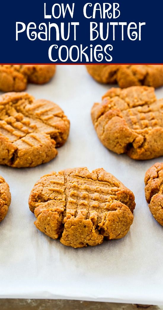 Photo of Low Carb Peanut Butter Cookies – Skinny Southern Recipes #keto