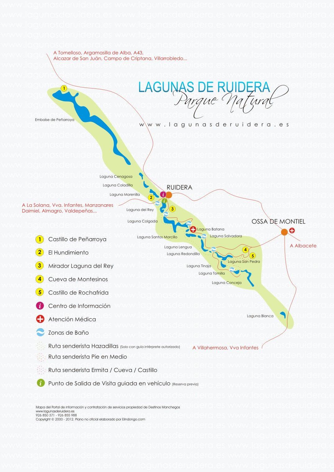 Pin En Ruidera Ciudad Real Castilla La Mancha
