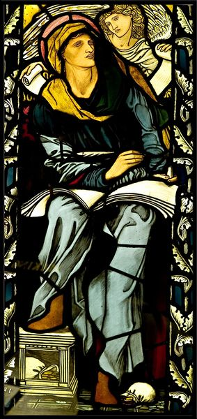William Morris stained glass No.2 - Keighley, West Yorkshire