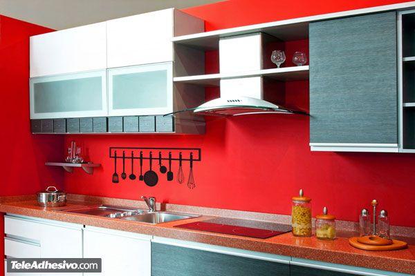 Vinilos Decorativos: Utensilios de cocina 1